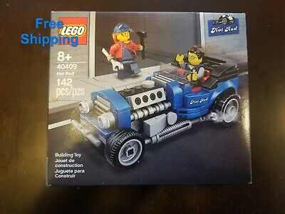 Lego 40409 Hot Rod Rare Retired New Sealed 142 pieces Free Shipping