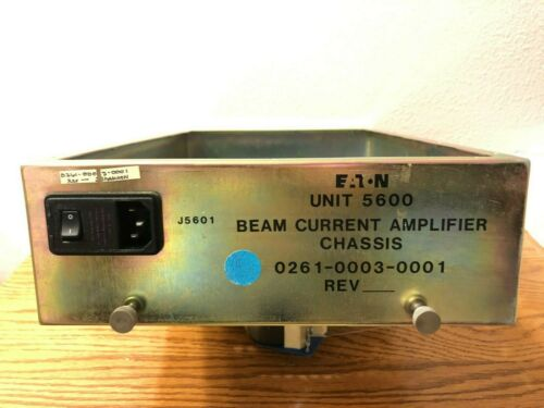 Axcelis/Eaton 0261-0003-0001 Beam Current Amplifier Chassis.