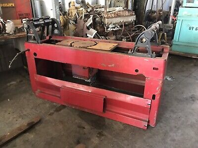 Van Norman 570 Rotary Broach Head Planer Wbits Free Ship W25 Miles Only