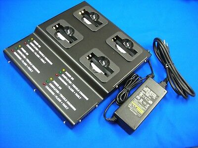 4 Bank Pro Charger(Metal Case)For HHP Honeywell DOLPHIN 7600