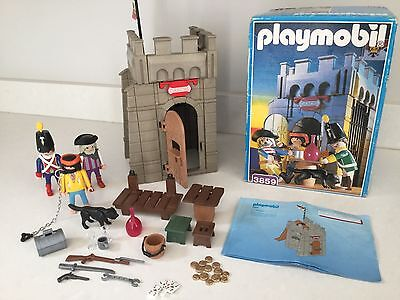 Playmobil Jail Pirate 3859 Carcel Tower Boxed With Instructions And Extras