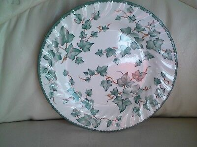 BHS COUNTRY VINE DINNER PLATES, 26.5 CMS APPROX ,USED,FREE-MAILING.