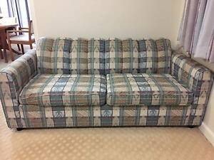Lounge or Sunroom Furniture Set - Sofa Bed, Chairs & Coffee Table Denistone Ryde Area Preview