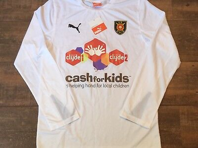 2014 2015 Albion Rovers BNWT New L/s Charity Football Shirt Adults Small  image