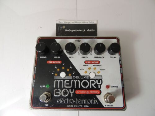 Electro Harmonix Deluxe Memory Boy Analog Delay Echo Effects Pedal EHX