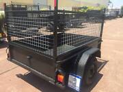 CHEAP 6X4 WITH 600MM CAGE HEAVY DUTY 12 MONTHS PRIV REGO $990 Minchinbury Blacktown Area Preview