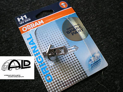 5 Stück OSRAM 12 Volt 55 Watt H -1 Glühlampe Birne Glühbirne original spare part