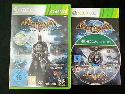 Xbox 360 - Batman Arkham Asylum Classics - GER/ESP segunda mano  Alicante
