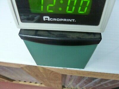 Acroprint Etc Digital Automatic Time Clock