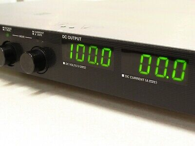 Sorensen Dcs100-10e Power Supply 0 - 100v 0 -10a Option 130 -ethernet Lxi