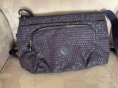 Kipling Basic Plus Frida Bag Purple BNWT