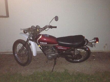 Yamaha dt125 a 1973 vintage vmx