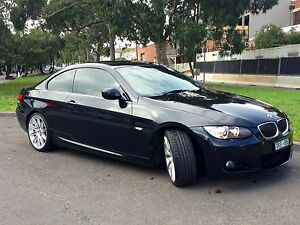 2009 BMW 325i Coupe with M-Sport Package Pyrmont Inner Sydney Preview