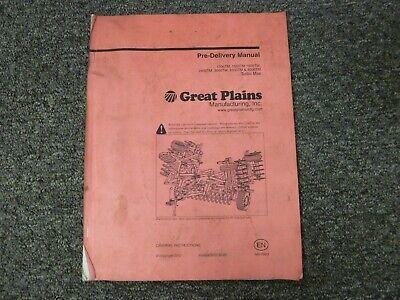 - Great Plains 1200TM 1500TM 1800TM Turbo Max Vertical Tiller Pre-Delivery Manual