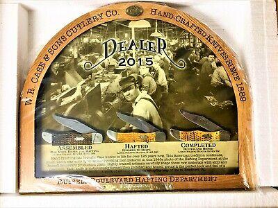 WR Case 2015 NEW Factory Dealer Knife Display Only One per Dealer #06065 Rare!