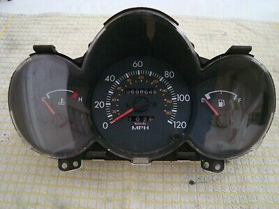 Hyundai Amica 1.0 si 2000 interior digital speedo odometer cluster dial gauge