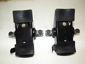 NEW! PAIR 1964-1973 Mustang, Falcon,Comet Spring Seat Saddles, Coil Spring Perch