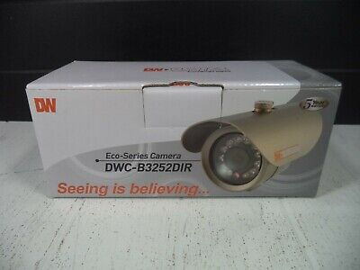 6x GANZ CCTV BOX CAMERAS