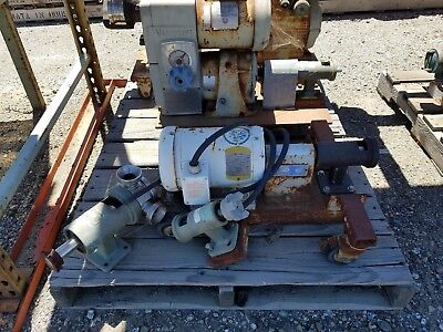 Jabsco Positive Displacement Pump Lot Of 5 Units S15050-0765 S10-p4-01