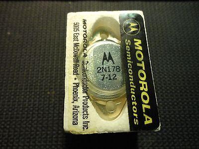 1pc. Motorola 2n178 Pnp Germanium Transistor