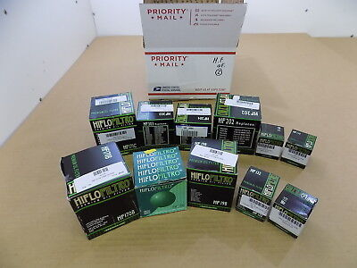 NEW WHOLESALE LOT OF ASSORTED HIFLOW MOTORCYCLE/ATV OIL FILTERS #2