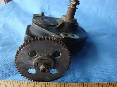 Tmw Worm Gear Reducer Steampunk Gearbox Cast Aluminum Brass 6997211