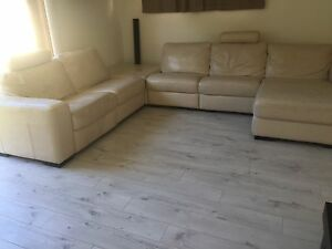 Leather Corner Modular Lounge Suite Botany Botany Bay Area Preview