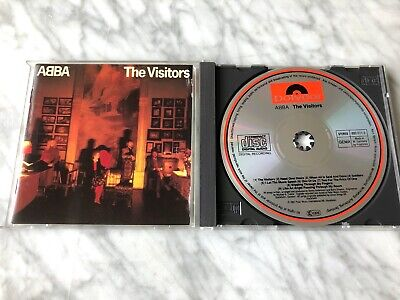 Abba The Visitors CD TARGET ERA West Germany Original POLYDOR 800 0112 VERY RARE