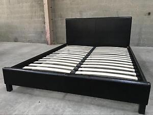 Brand New PU Leather Bed For Only $160 2 Colors Available Melbourne CBD Melbourne City Preview