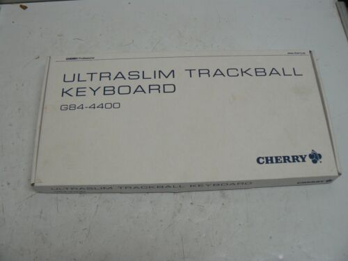 CHERRY G84-4400PBGB-2 BLACK COMPACT KEYBOARD PS/2 NEW
