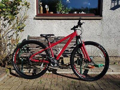 "Carrera Sulcata Mountain Bike - Women - Red -  16"" Frame - 29"" Wheel - MTB 29er"