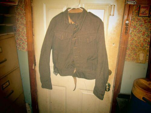 Original WW2 Battle Dress Blouse 1944 Size 16 Large