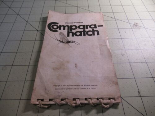 Compara- hatch, By Caucci/ Nastasi Mayfly Field Guide Fly Match