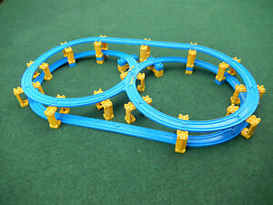 Tomy Trackmaster Thomas Tank Engine *Twin Spiral Looping Fig 8 Train Track Set*