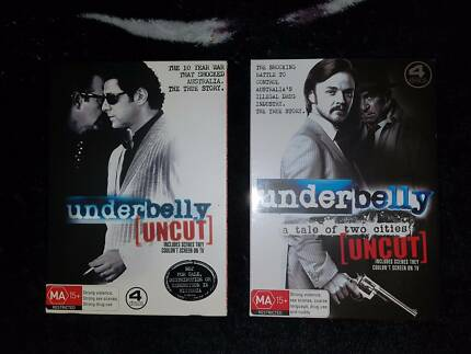 Underbelly DVD season 1 and 2 Brand New condition