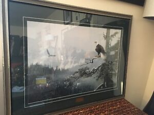 """""""ON EAGLES' WINGS"""" Limited Edition Print by Terry Isaac"""