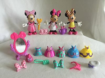 Disney Minnie Mouse Bow-Tique 3 Dolls 27 Piece Lot 5