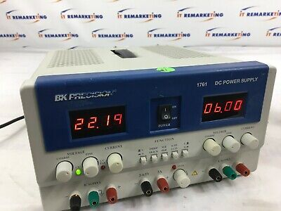 Bk Precision Model 1761 Triple Output Power Supply 0-35v 0-3a 2.5-6.5v 0-5a