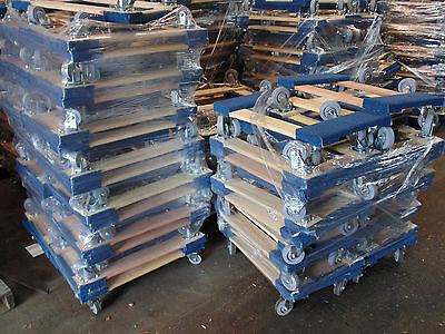Set Of 50 Nk Furniture Movers Dolly Non-marking 4 Tpr Wheels Local Pickup