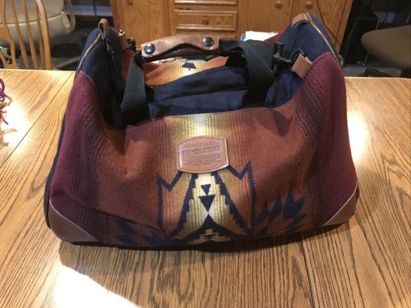 Vintage Pendleton Carry On Bag