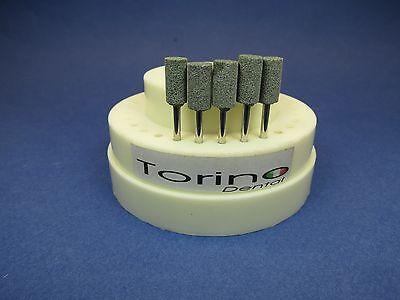 Dental Lab Acrylic Burs Cylindrical Hp Green Kit 5 Pcs Torino Jewelry