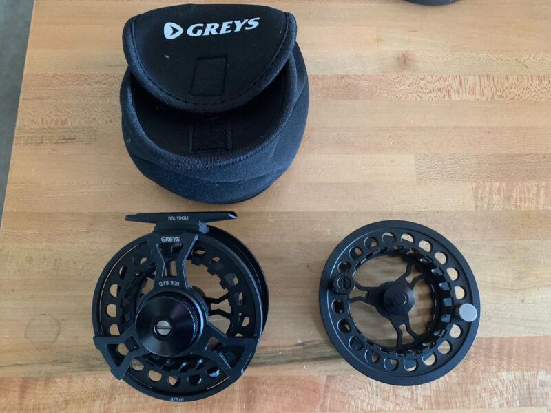 Greys GTS 300 Fly Reel 4/5/6 NIB Mint Condition Plus Extra Spool