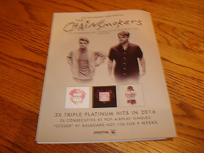 The Chainsmokers 2016 Grammy Ad For Hits Closer Roses Dont Bring Me Down