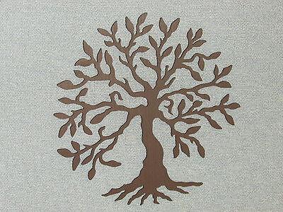 Custom Made Olive Tree Espresso Brown Wall Art Decor Wood 16