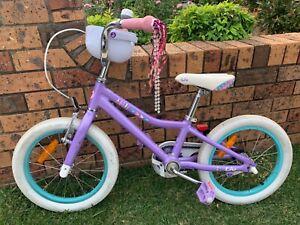 Liv girl bike with helmet