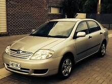2005 Toyota Corolla Sedan Automatic with Cruise Control Woodville Charles Sturt Area Preview