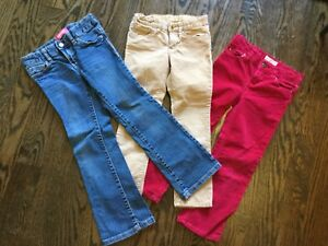 Lot of size 5 toddler pants$12