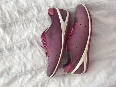 Ecco Damen Sneaker Gr 39 lila (F87)