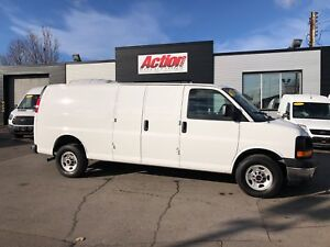 2017 GMC Savana 3500 1ton! ext! fin or leasing available OAC