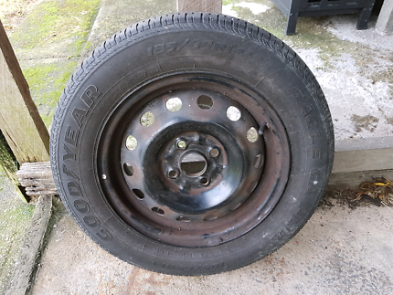 Mazda 323 Spare Tyre